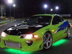 1999 Mitsubishi Eclipse Fast And Furious Clone Replica Paul Walker ...