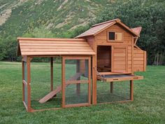 Tavern Backyard Chicken Coop. Perfect size for a backyard coop.