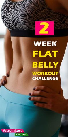 Slimming Challenge 2 Week Flat Belly Workout Challenge - How to get flat tummy? Try this 2 week flat belly workouts challenge. Best exercise for flat belly. Easy workouts plan for flat tummy. Burn belly fat workout challenge at home in 2 weeks. Flat Belly Workout, Tummy Workout, Flat Tummy In 2 Weeks Workout, Skinny Fat Workout, Reduce Belly Fat, Burn Belly Fat, Lower Belly, Belly Belly, Sixpack Workout