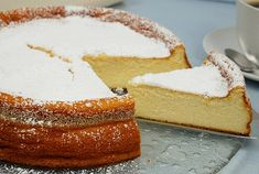Gâteau mousseux au fromage blanc – GOURMANDISE SANS FRONTIERES Vanilla Cake, Easy Meals, Easy Recipes, Biscuits, Cheesecake, Dessert Recipes, Cookies, Healthy, Food
