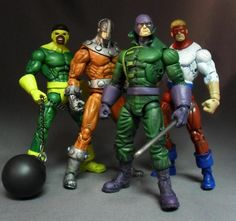 Wrecking Crew (Marvel Legends) Custom Action Figure