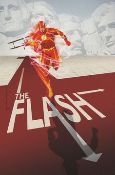 FLASH #40 inspired by NORTH BY NORTHWEST, Variant Cover by Bill Sienkiewicz