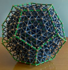 """The Dodecahedron is a Platonic solid, composed of 12 regular pentagonal faces, with three meeting at each vertex. It has 20 vertices and 30 edges.    The dodecahedron is not an easy polyhedron to build with Geomag, and the """"standard"""" result is a model  Siêu thị điện máy HC giá rẻ chất lượng hàng đầu việt nam  http://hc.com.vn/dien-tu/tivi-led.html"""