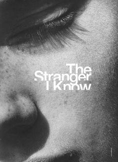 Stranger: Photographer - Peter Lindbergh, Model - Querelle Jansen, Magazine - POP