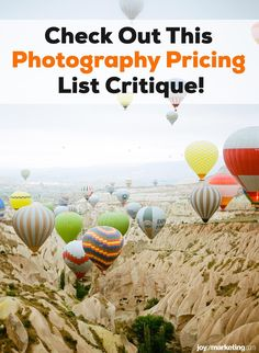 One of the scariest things about running a photography business is figuring out your photography pricing.Once you've done all the math and know how to profitably price your photography, the next step is to present and display your prices so that your clients see you're worth what you're asking to be paid.Below, I'm critiquing the photography pricing list of one of my Simplified Photography Pricing Formula students, Ciera Kizerian. Photography Price List, The Next Step, Photography Business, Students, Display, Running, Math, Floor Space, Billboard