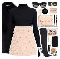 """""""Wednesdays"""" by palmtreesandpompoms ❤ liked on Polyvore featuring Alexander McQueen, Rumour London, Lela Rose, Le Silla, NARS Cosmetics, Givenchy, Le Specs, Parker, Rick Owens and Pier 1 Imports"""