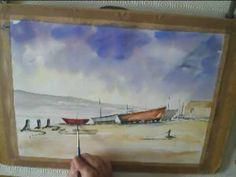 boatyard Watercolour