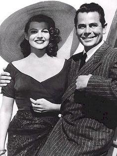 Rita Hayworth with Glenn Ford