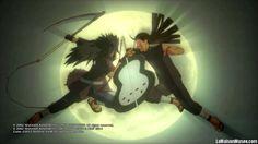 Passé ou présent ? La démo' manque de précisions. Surtout lorsque le précédent épisode laissait le joueur dans une condition tout à fait différente. Cela dit, Naruto Shippuden Ultimate Ninja Storm 3 s'adresse aussi bien aux lecteurs du manga ... qu'aux joueurs.  http://lamaisonmusee.com/