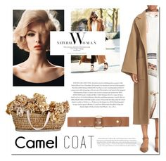 """Camel"" by hellodollface ❤ liked on Polyvore featuring Loewe, Envi:, Marni and camelcoat"