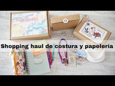 VIDECOTI Shopping haul de costura y papelería - YouTube