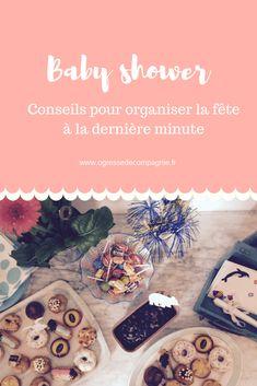 Conseils pour une baby shower de dernière minute