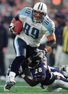 Awesome Frank Wycheck - Tennessee Titans