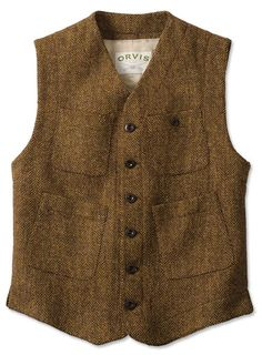 Just found this Mens Tweed Work Vest - Sparsholt Tweed Work Vest -- Orvis on Orvis.com!