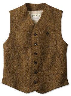 Just found this Mens Tweed Work Vest - Sparsholt Tweed Work Vest -- Orvis on Orvis.com!