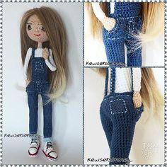 #amigirumilove #amigirumidoll #amigurumi #crochet #crochetlover #crochetdoll #handmadedoll #handmade #elemeği