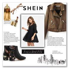 """""""SheIn"""" by emina-la ❤ liked on Polyvore featuring WithChic, Ace, 3R Studios and Thierry Mugler"""