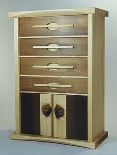 EDITOR'S CHOICE (1/7/2013): Jewelry Cabinet by Natalie   View details here: http://lumberjocks.com/projects/77285