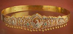 Types of Vaddanam Designs - Jewellery Designs Indian Wedding Jewelry, Bridal Jewelry, Jewelry Gifts, India Jewelry, Temple Jewellery, Ethnic Jewelry, Indian Jewellery Design, Jewelry Design, Diamond Jewelry