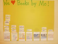 Literacy and Laughter - Celebrating Kindergarten children and the books they love: Mo Willems Fun