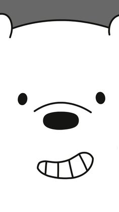 ^ 3 Bare Bears is a cartoon that I have been watching with my granddaughter Twinkle Toes. This one is the snow bear,