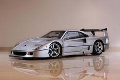 Visit The MACHINE Shop Café... ❤ Best of Ferrari @ MACHINE ❤ (1991 Ferrari F40 Supercar)