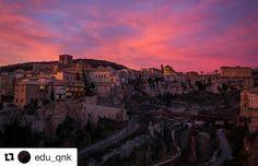 Vistas de Cuenca  por @edu_qnk #ZascandileandoPorCuenca