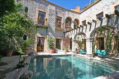 Centro Historico Vacation Rental - VRBO 385896 - 7 BR San Miguel de Allende House in Mexico, 5 Star Villa - 3 Star Price! ; Full Staff/Cook; 10% Discount
