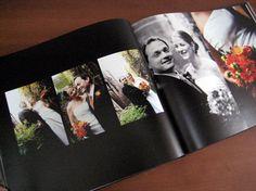Blurb custom wedding book by Kathy Beymer