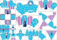 Frozen para Navidad: Cajas para Imprimir Gratis.   Ideas y material gratis para fiestas y celebraciones Oh My Fiesta!