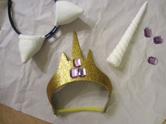 DIY my little pony unicorn horn and ears