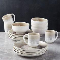 VILLEROY /& BOCH CAMEO Blanc Soupe Tasse avec soucoupe plus Rev Top v/&b