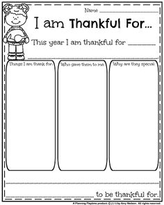 Thanksgiving Writing Promts - November First Grade Worksheets.