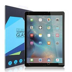 iPad Pro 129 Screen Protector iXCC 03mm Full Cover 9H Hardness Tempered Glass Screen Protector Antiscratch Antiglare for iPad Pro 129 Inch * Read more reviews of the product by visiting the link on the image. Note: It's an affiliate link to Amazon