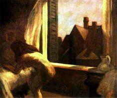 Moonlight Interior, Edward Hopper