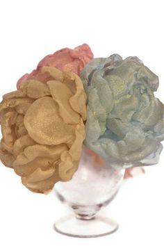 bouquet di fiori di stoffa fatti a mano  bellissime di RoseinItaly, $100,00