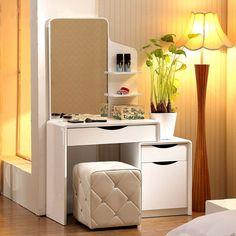 Dormitorio tocador tocador tocador moderno minimalista apartamento pequeño mini tocador armario vestidor oferta especial del envío