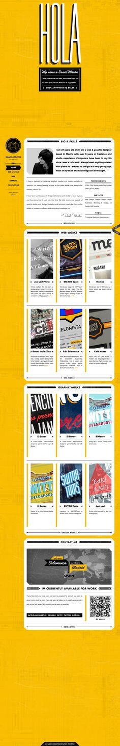Daniel Martin — Web & Graphic Designer http://www.danielmart.in