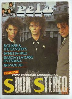 Soda Stereo conquista Latinoamérica