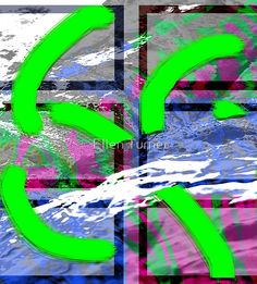 Collage with mountains 2