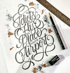 23 Beautiful Typography & Lettering Designs – From up North