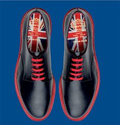 Church's Stratford Shoes for London Olympics – 17 Versions - Black and red