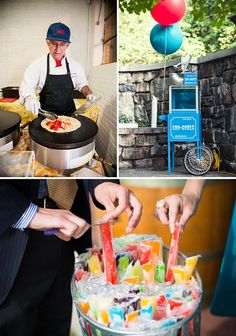 Fairground food at a summer wedding. Top 20 Wedding Ideas of 2013 - Project Wedding