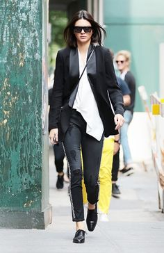 The Top 10 Kendall Jenner Street Style Moments of 2015 via @WhoWhatWearUK