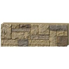 $138.00 Profile/Style	Castle Rock Manufacturer Color/Finish	Windsor buff Material	Polyurethane Type	Panel Length (Inches)	15.25 Width (Inches)	43.25 Thickness (Inches)	1.25 Pieces per Carton	4.0 Coverage Area per Package (Sq. Feet)	16.12 Application	Interior/Exterior Color/Finish Family	Cream/Beige/Almond R Value	4.5 Package Weight (lbs.)	20.0 Warranty	20-year limited