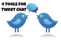 A twitter chat is an organized conversation of tweets on a specific time with a group of twitter users.   But if you're using a standard twitter client it's hard to follow. Here's 4 twitter chat tools you can use.