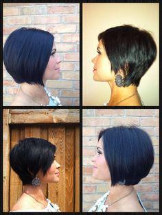 Hair tutorial: bob to short razored hair cut *** Gorgeous