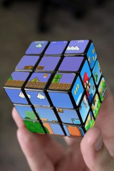 Mario rubix cube