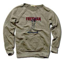 Freddie Freeman MLBPA Officially Licensed Atlanta Women's MANIAC Sweatshirt S-XL Freddie Freeman Score R