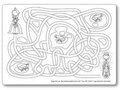 Labyrinthe Prince et princesse